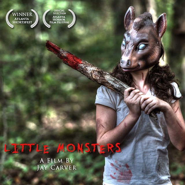 Little Monsters will be screening tomorrow, October 30th at 7pm sharp at the DooGallery located on 205 Holtzclaw Street, Atlanta GA 30316. Tickets will be sold 30 minutes before screening for $6 per person. ? #jaycarver #atlanta #horror